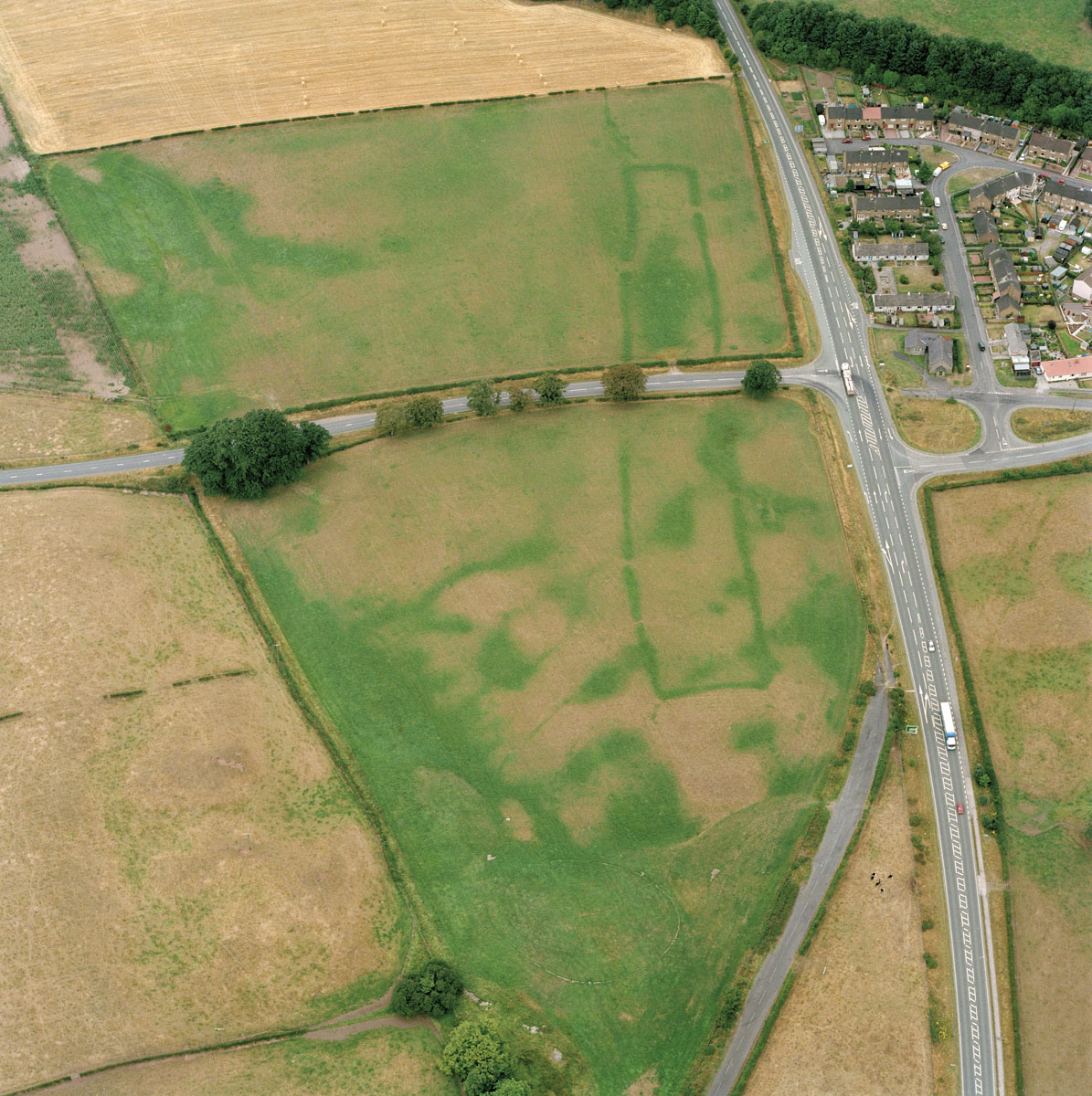 Prehistoric and Undated Settlement and Agriculture - Cropmark