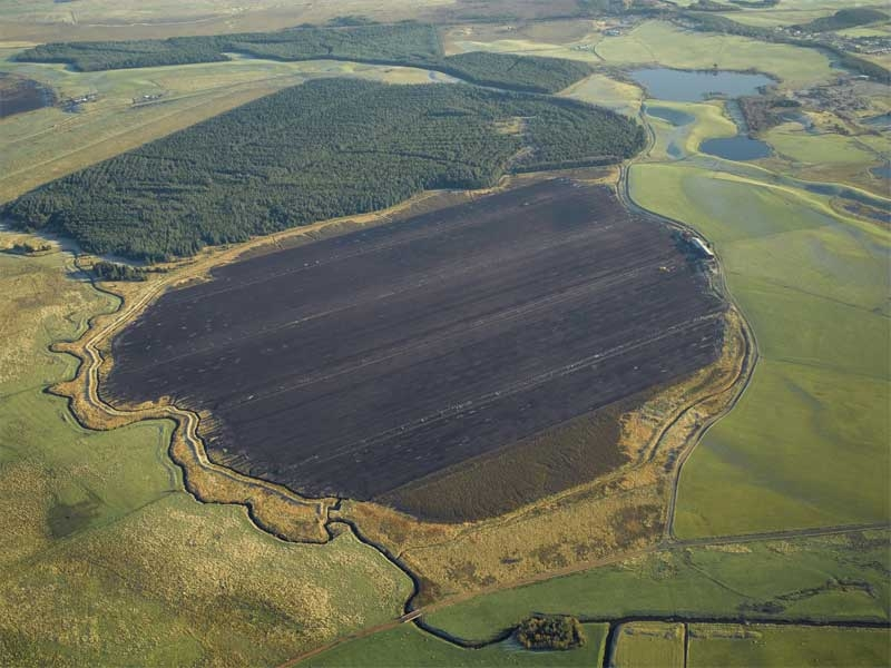 Commercial Peat Extraction page